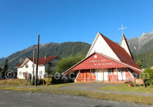 Eglise de Chaiten, Patagonie