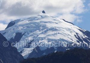 Glacier du parc Corcovado, Sud Chili
