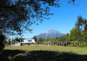Cerro Cascada depuis El Amarillo