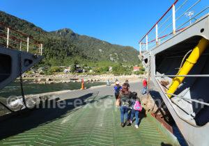 Débarquement à Caleta La Arena