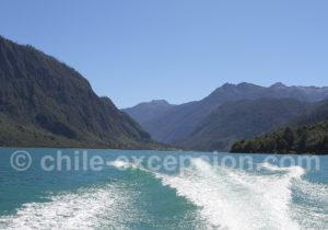 Traversée nautique du lac Tagua Tagua