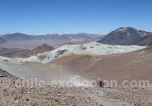 Mine de souffre, volcan Toco