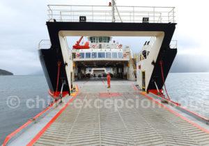Barcaza Carretera Austral