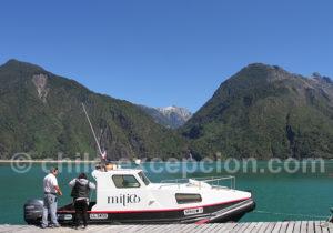 Débarquement à Mitico Puelo