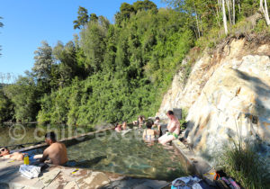 Piscine thermale à Puelo