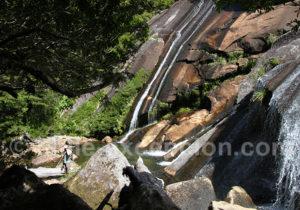 Une des cascades du parc Tagua Tagua