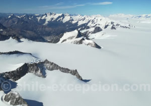 Champ de glace Patagonique Sud