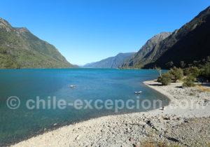 Lac Tagua Tagua, accès à la vallée de Puelo