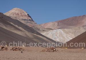 Mine sur le chemin du parc Nevado Tres Cruces