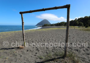 Plage Santa Bárbara, Route Australe