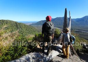 Route Australe volcan Chaitén