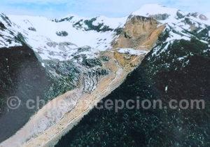 Ecroulement d'une montagne à l'origine du drame de Villa Santa Lucía
