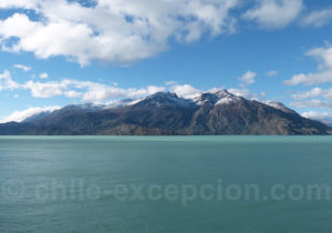 Panorama lac O'Higgins