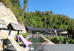 Bain de soleil à Puelo