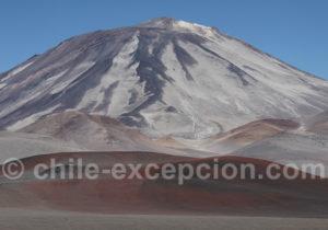 Les volcans du parc Nevado Tres Cruces
