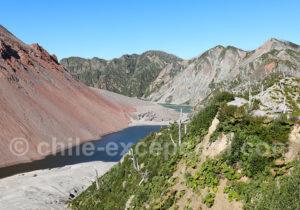 Volcan Chaiten caldeira de 4 km sur 2,5 km