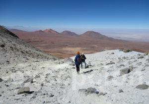 Ascension du volcan Toco