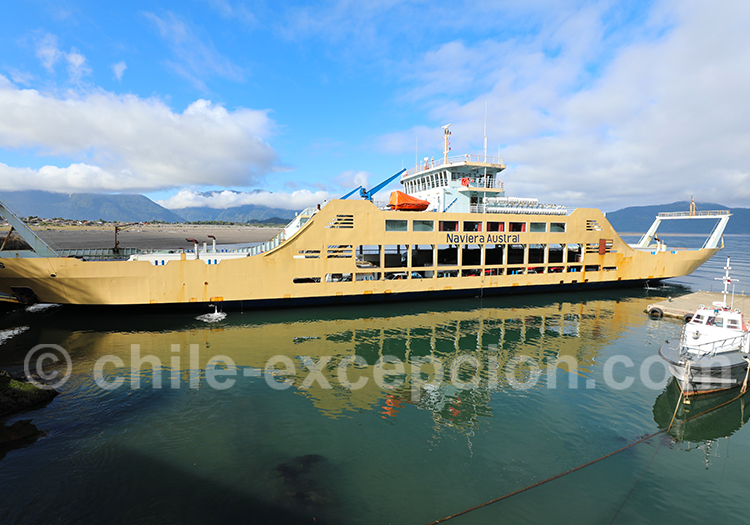 Barcaza Chaitén Puerto Montt