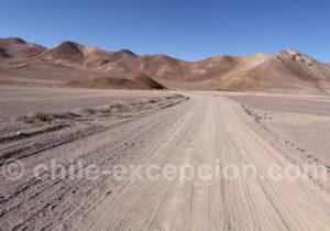 Les pistes du parc Nevado Tres Cruces