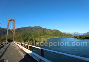 Pont sur le Rio Yelcho, Carretera Austral