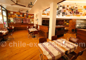Restaurant Baco, salle intérieure