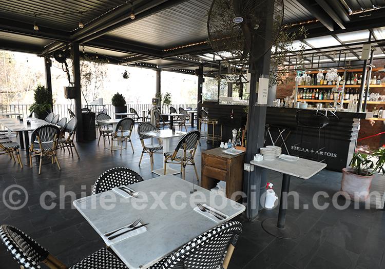 Restaurant Castillo Forestal, Lastarria