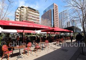 Restaurant et confiserie Torres Isidora, quartier du Golf