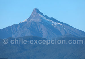Volcan Corcovado 2300 m, Sud Chili