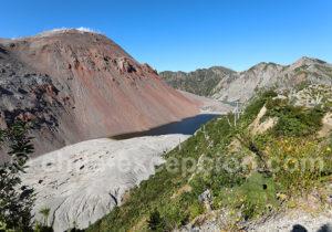 Chaitén volcan du sud du Chili