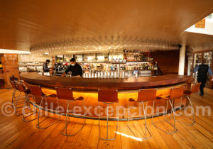 Bar du restaurant Baco, Santiago