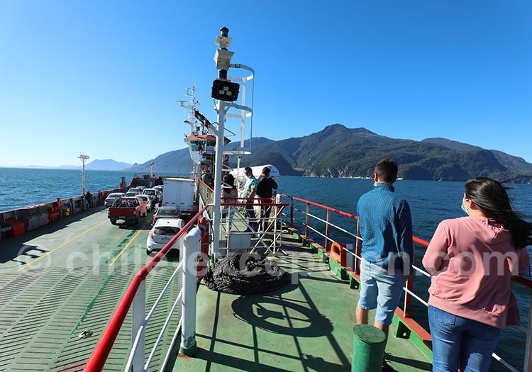 Réservation transbordeur Route Australe
