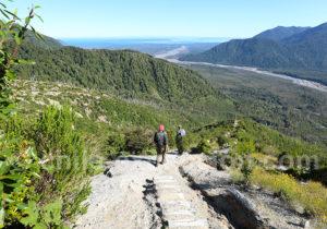 Chile Excepcion ascension volcan Chaitén