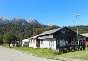 Villa Santa Lucía croisement Route Australe et route de Futaleufú