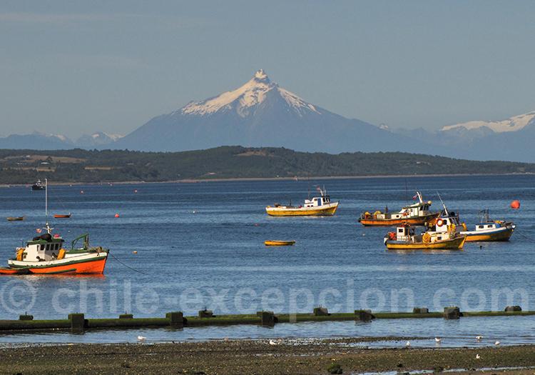 Volcan Corcovado depuis Quellón