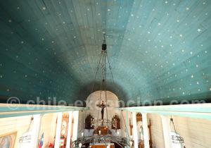 Voûte de l'église de Cochamo