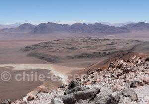 Vue depuis le Cerro Toco, Atacama