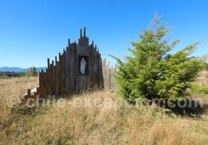 Sanctuaire à la Vierge de La Candelaria de Aulen