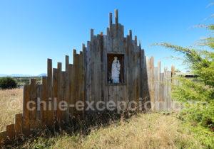Vierge des marins à Aulen, Patagonie