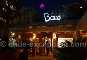Restaurant Baco, Providencia