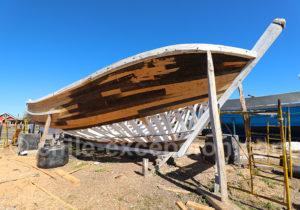 Fabriquant de bateaux à La Poza