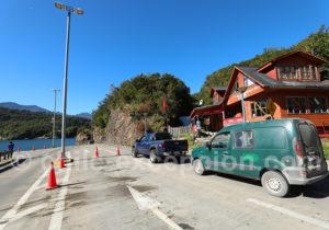 Embarcadère à Caleta Puelche