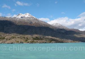 O'Higgins grand lac de Patagonie