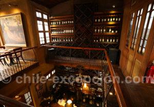 Restaurant El Meson Nerudiano, la cave
