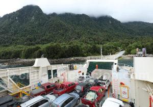 Voyage en ferry entre Fiordo Largo et Caleta Gonzalo