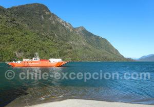 Grand bac du lac Tagua Tagua
