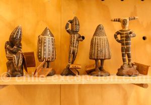 Personnages des cultures ancestrales du Chili