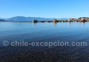 Port de pêcheur de Hualaihué