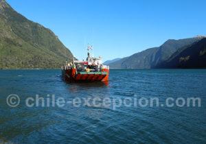 Ferry du lac Tagua Tagua