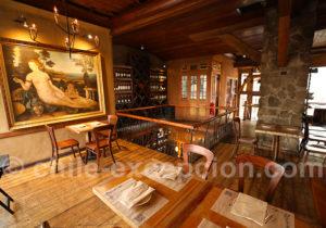 Tops restaurant de Santiago du Chili