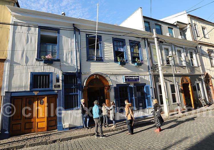 La Concepción, restaurant de poissons à Valparaiso (2)